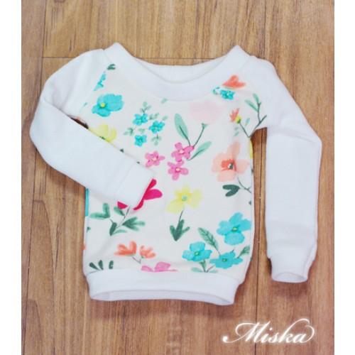 MISKA*1/3 Sweet Badge Sweatshirt  - MSK030 010