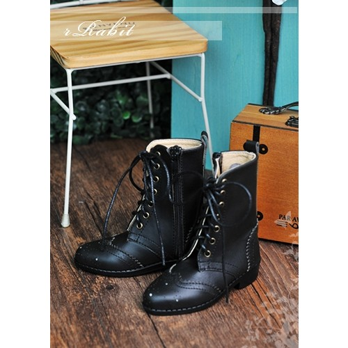 1/3 SD13 SD17 Antique Boots - RHL003 Black