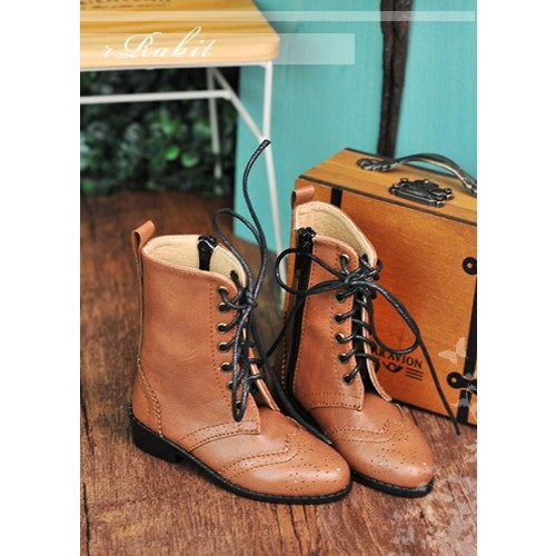 1/3 SD13 SD17 Antique Boots - RHL003 Yellow Brown