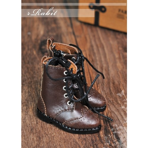1/6 YOSD soom iMda 3.0 Antique Boots - RHL003 Chocolate