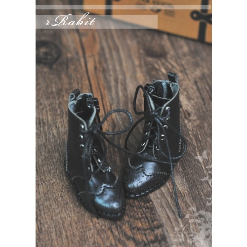 1/6 YOSD soom iMda 3.0 Antique Boots - RHL003 Black