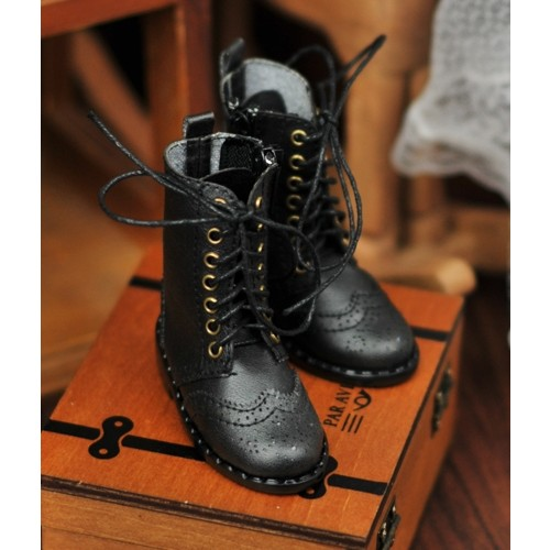 1/4 MSD MDD Rosie Holiday Antique Boots - RHL003 Black