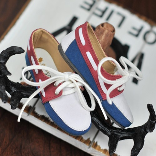 1/3 SD13 SD17 Deck shoes RHL004 Berries Yoghurt