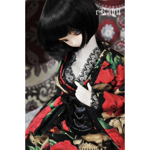 [Halloween Limited] 1/3 Rose Hell - Kimoni Set.