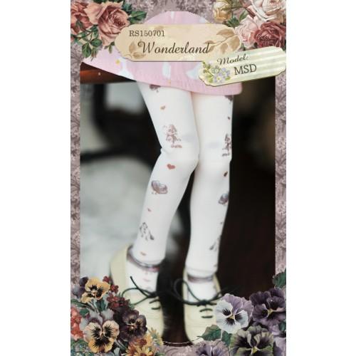 1/3 & 1/4 Socks RS150701 Wonderland