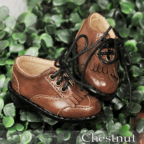 1/4 MSD MDD Holiday*Tassel Shoes *RSH002 Chestnut