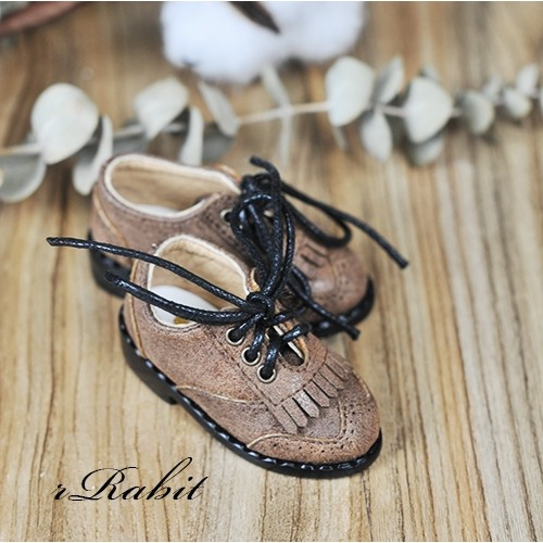 1/4 MSD MDD Holiday*Tassel Shoes *RSH002 Wide Brown