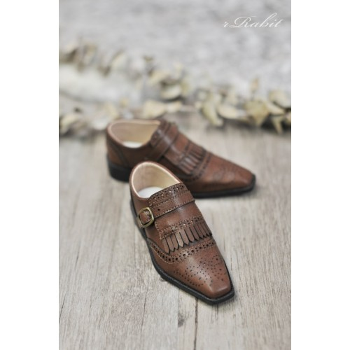 [Jan Pre]SD13/SD17 - Bourbon Oxford Shoes- RSH004 Carob