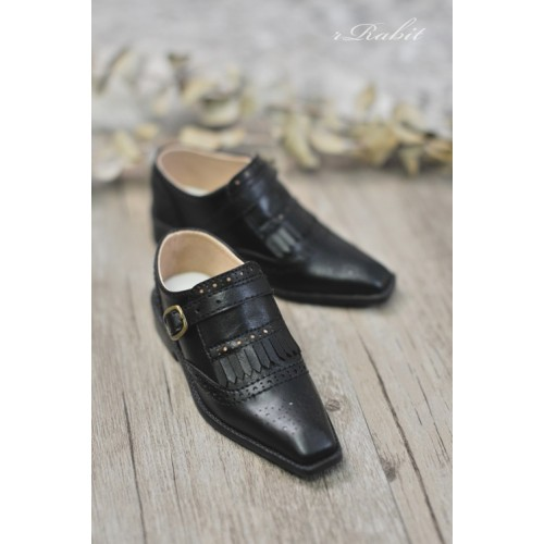 [Jan Pre]SD13/SD17 - Bourbon Oxford Shoes- RSH004 Black