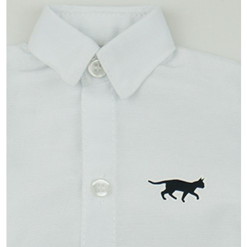 [Limited] 70cm up+ * Heat-Transfer shirt - RSP005 Cat