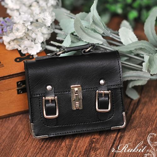 1/3 School Bag - Black