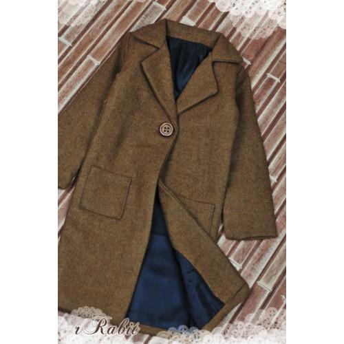 1/3 *Flannel Long Coat* SH003 1704 (Muddy)