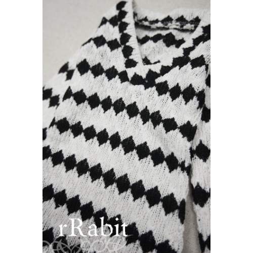 1/4 *L/S Deep V T-shirt* SH008 1607