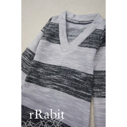70cm ~up *L/S Deep V T-shirt* SH008 1608