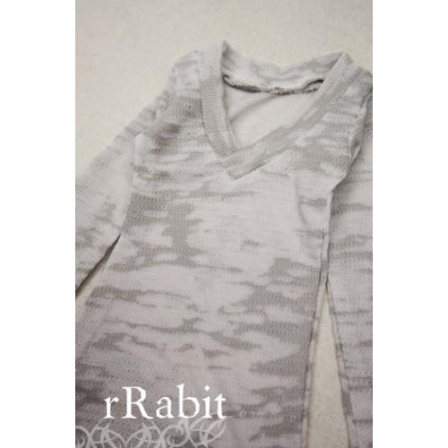 1/3 *L/S Deep V T-shirt* SH008 1610