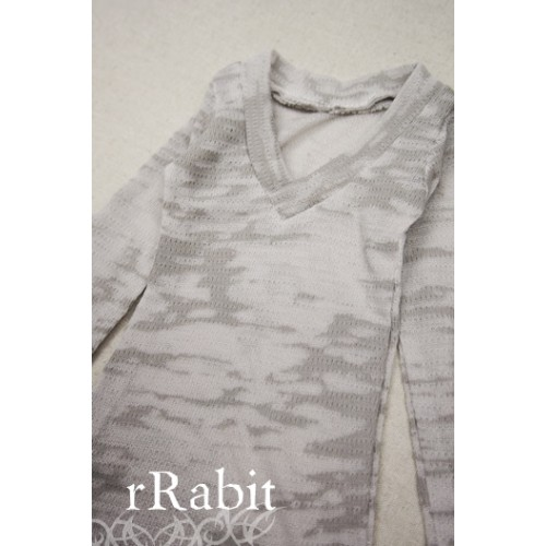 1/4 *L/S Deep V T-shirt* SH008 1610