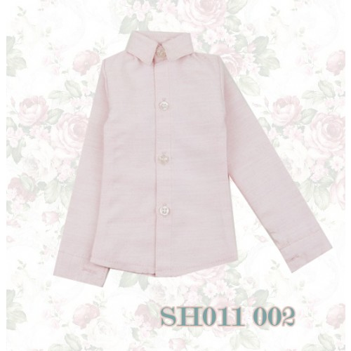 1/3 * Oxford Plain L/S Shirt - SH011 002 Pink