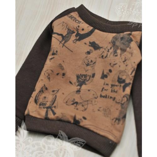 1/3 Casual Sweatshirt - SH051 1707