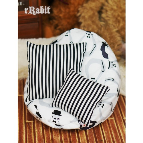 All size ★ Beanbag Sofa - Grey Penguin+Cushion