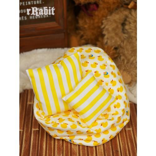 All size ★ Beanbag Sofa - Yellow Duck +Cushion