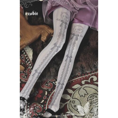 1/3 Socks - Rocking horse Ribbon Purple - RS181002 / SD10/SD13/SD16/SD17