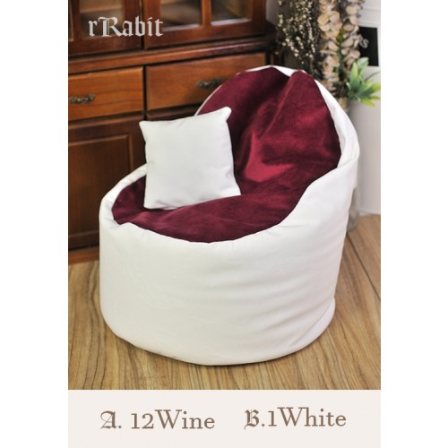 [Reco.]Sofa - [JellyBean]- A.12Wine B.1White