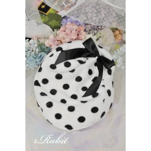All size ★ Ribbon Mo Sofa - Black spot