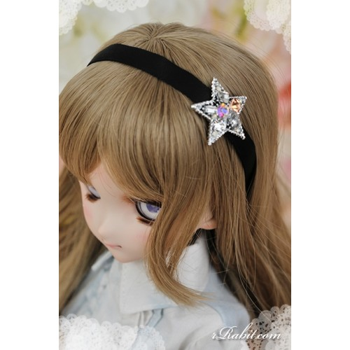 1/3 rRabit headband - Star piece (Silver) RB171001