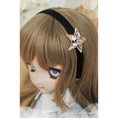 1/3 rRabit headband - Star piece (Copper) RB171002