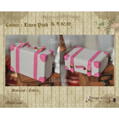 Suitcase ★ Linen Pink