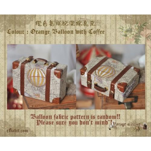 Suitcase ★ Orange Balloon X Coffee