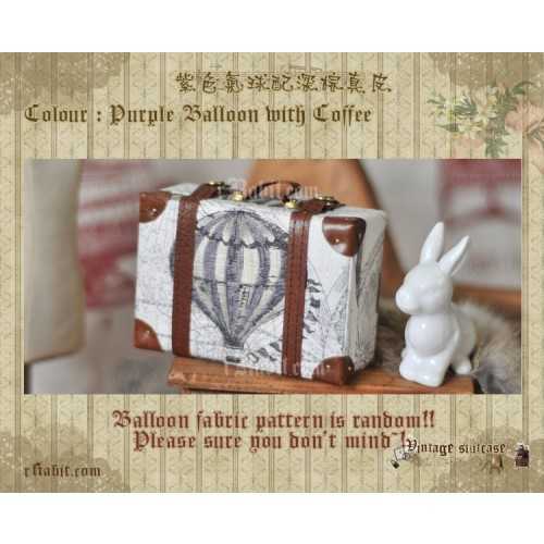 Suitcase ★ Purple Balloon X Coffee
