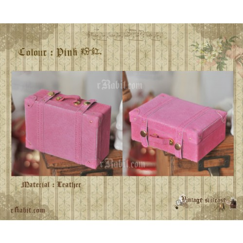 Suitcase ★ Pink