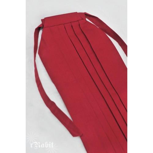1/4 Hakama 行燈袴 (Japanese Bottom Dress) TS001 1703 (Red)
