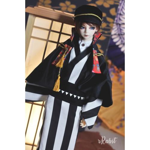 [Limited] 1/3Boy/SD17 - [斷花] - Kimono Set - Straight