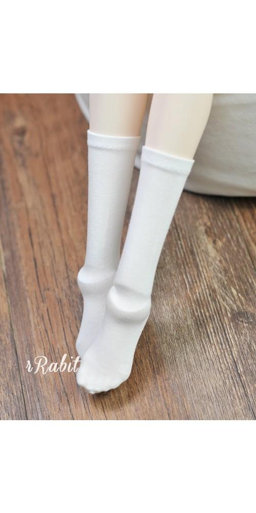 1/3 Girls - Short socks - AS009 001 (White)