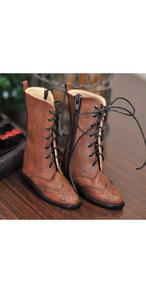 1/3 Girl SD10/13/16/DD Wingtips boots BLS005 - Dusty Red