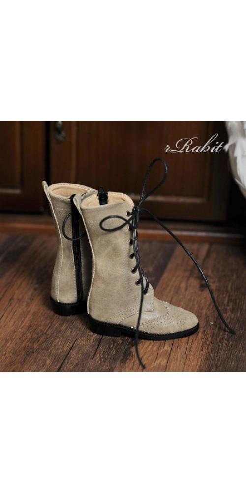 1/3 Girl SD10/13/16/DD Wingtips boots BLS005 - WideAlmond