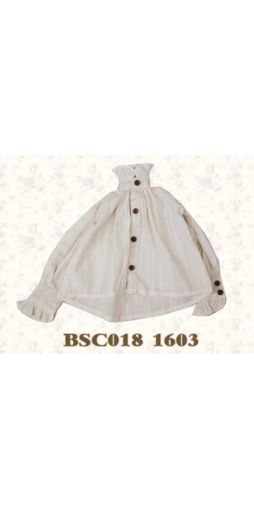 1/3 Benjament Shirt- BSC018 1603 (Coffee Dyed)