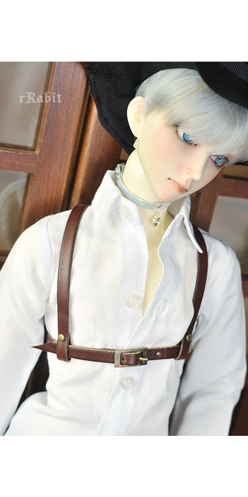 1/3 Girl [Leather Harness- The Belt ] -  Brown