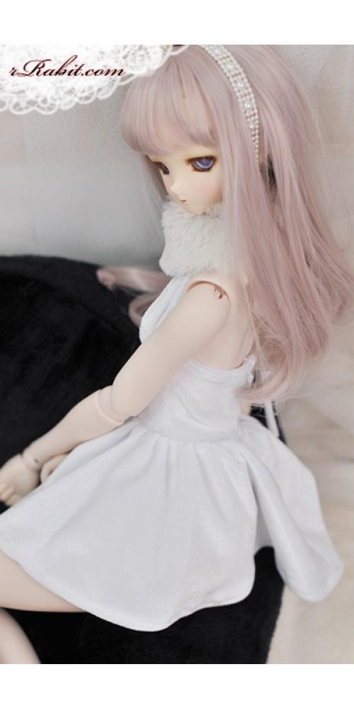 1/3 Gril - Velvet Night Dress - CP006 1701 (White)