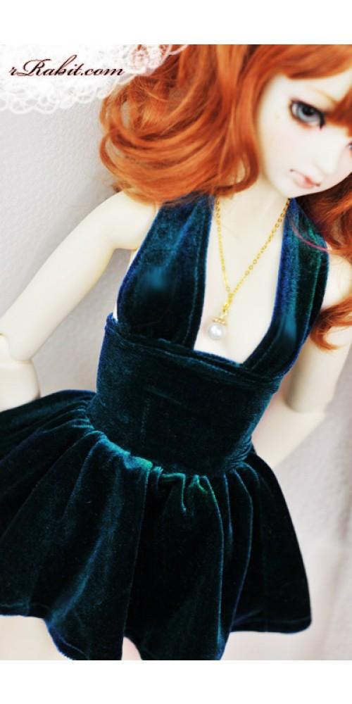 1/3 Gril - Velvet Night Dress - CP006 1703 (Lake blue)