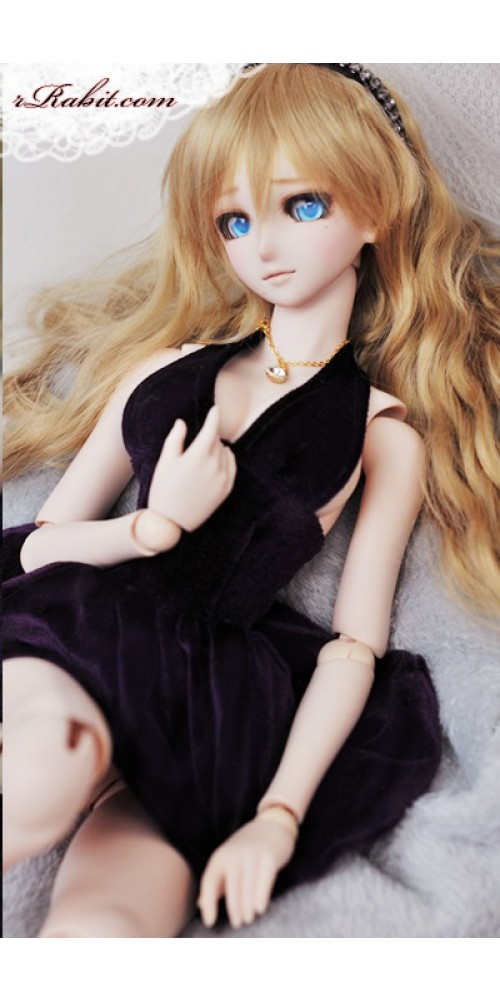1/3 Gril - Velvet Night Dress - CP006 1706 (Purple)