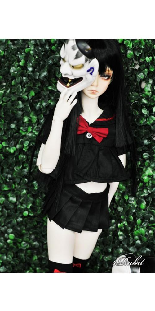 1/3 Girl SD13/10 DD - Sailor Cute Dress Set - CP010 002 (Black & Red)