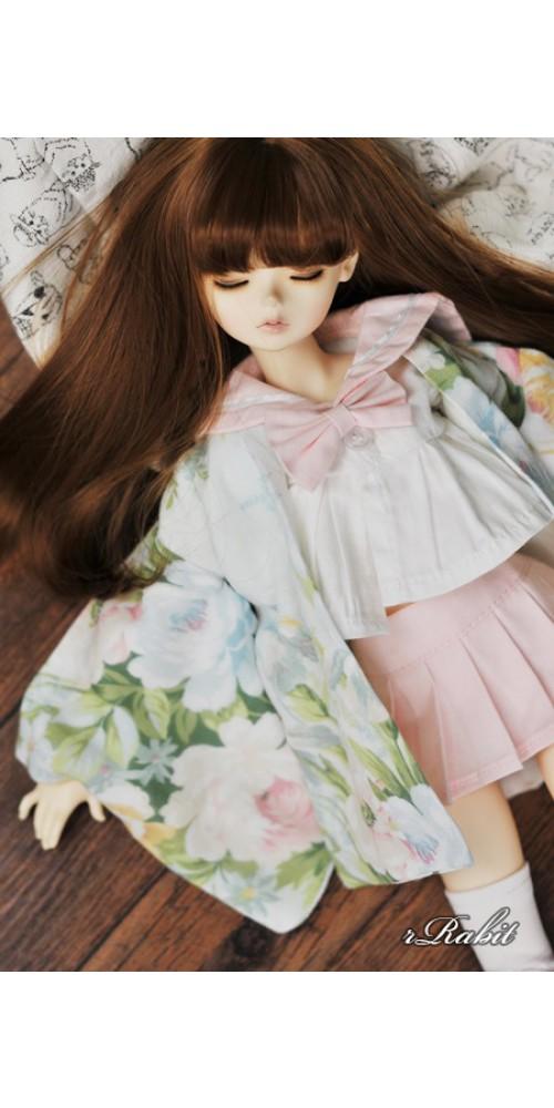 [Limited] 1/3 Haori Coat 羽織 - Summer Garden
