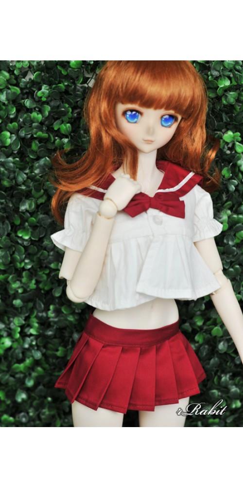 1/3 Girl SD13/10 DD - Sailor Cute Dress Set - CP010 007 (Red)
