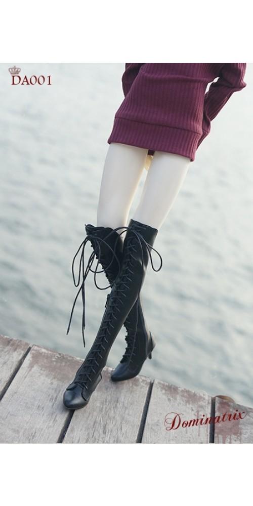 1/3 Girl/DD/SD16 Boot - Dominatrix - Long boots - DA001 Black