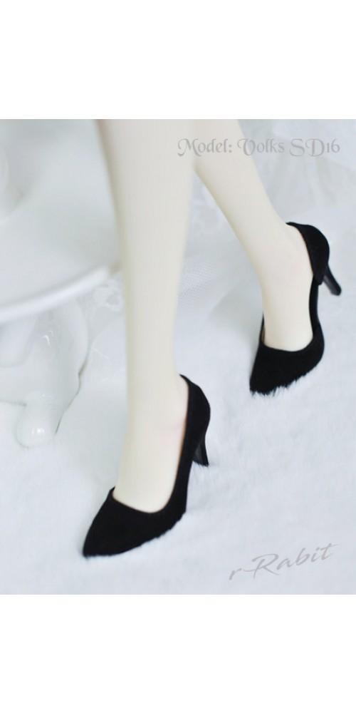 Queen's heels ✚1/4 HighHeels/MDD/AP/Minifee/Unoa [DA002] - Black Velvet