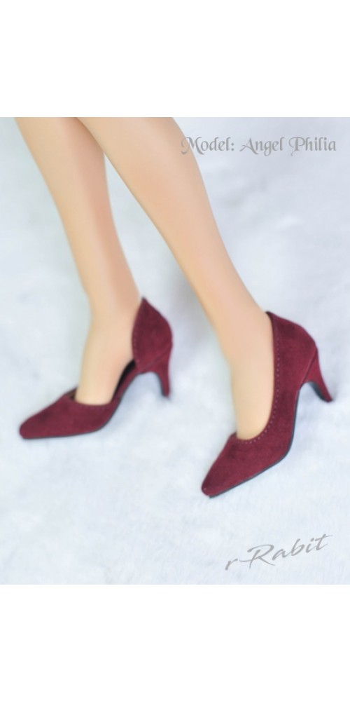 [Pre]Queen's heels ✚16G HighHeels/1/3 Girls/DD [DA002] - Berry Velvet