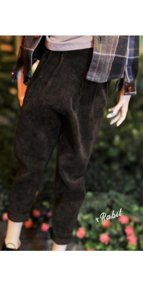 1/4 [Corduroy pants] - HL043 1902